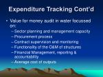 expenditure tracking cont d3