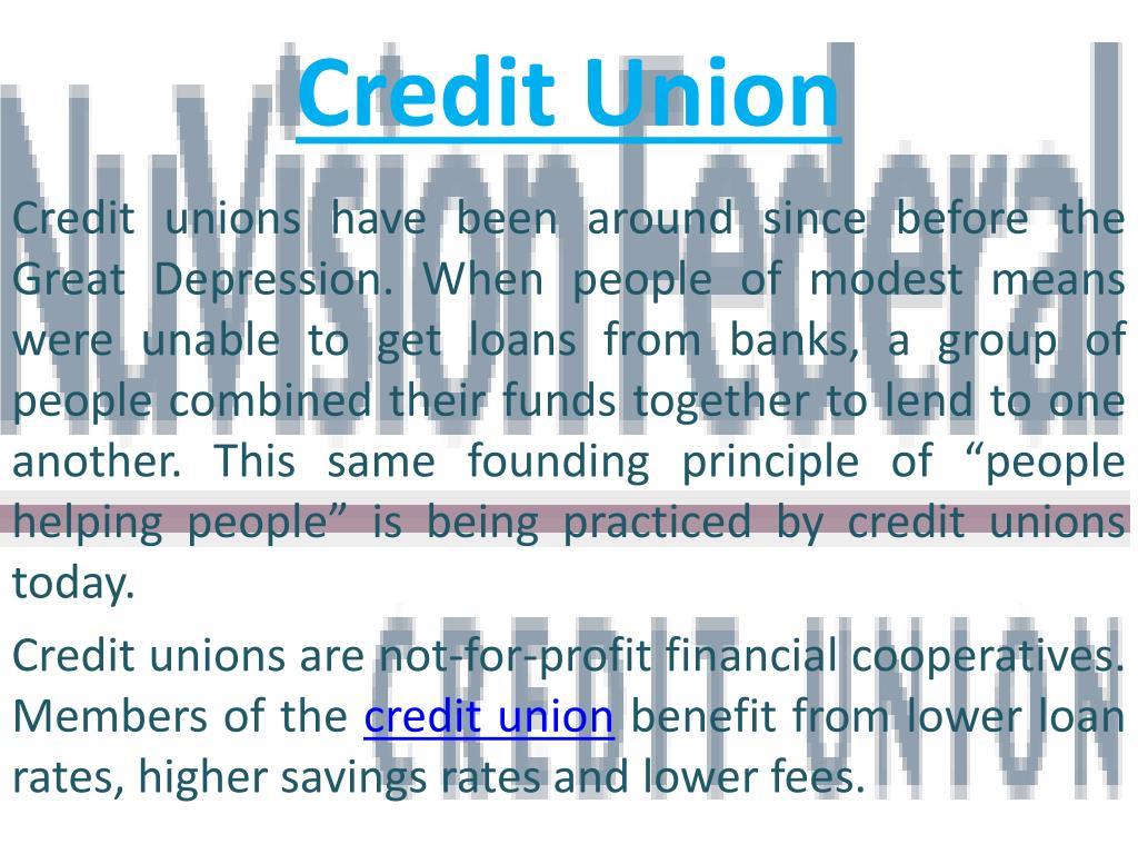 credit union l.