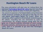 huntington beach rv loans
