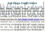 san diego credit union