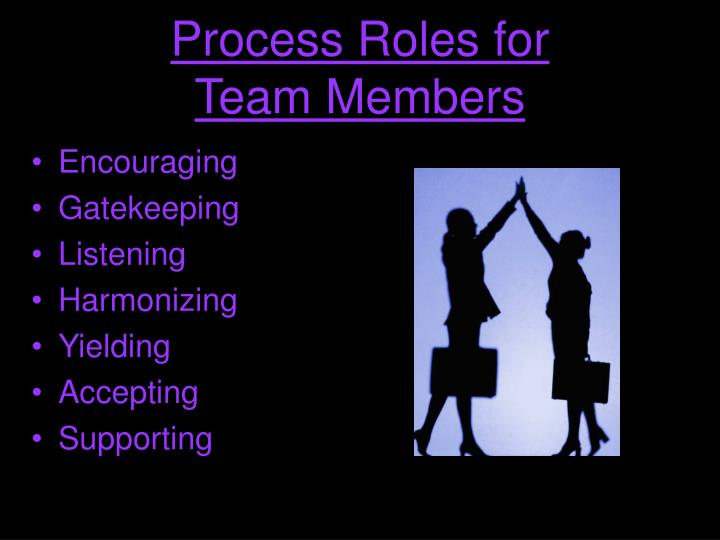 Process Roles for