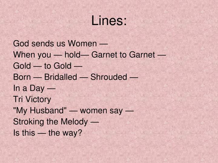 Lines: