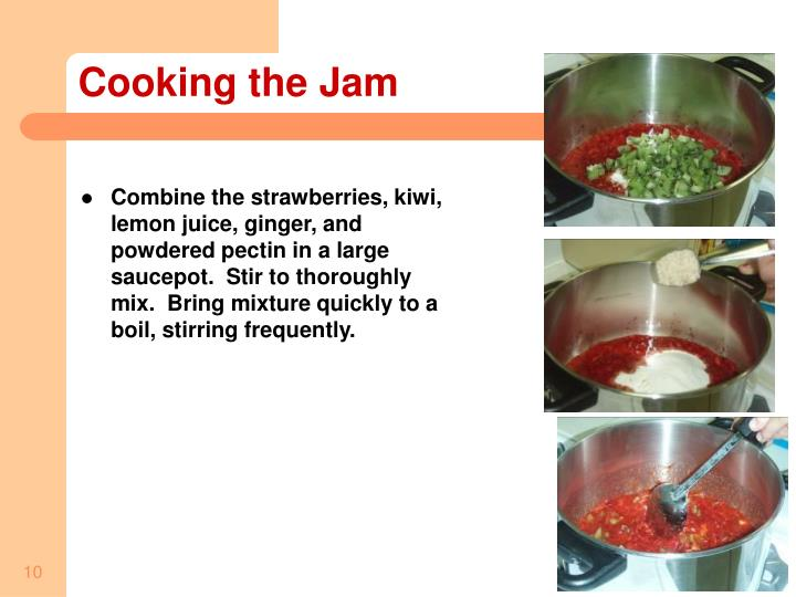 Cooking the Jam
