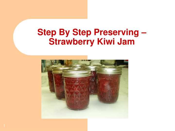 Step By Step Preserving –