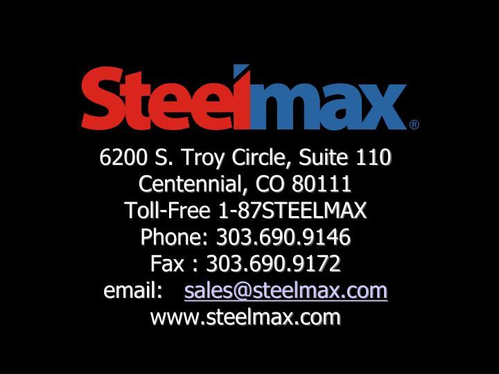 6200 S. Troy Circle, Suite 110
