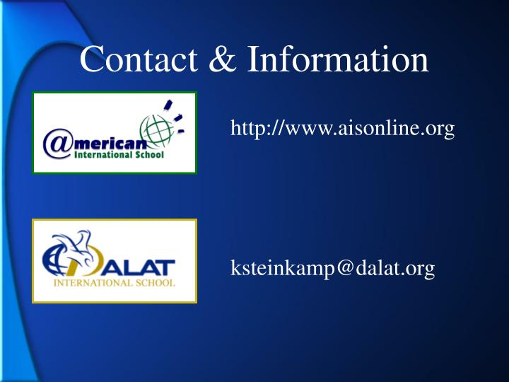Contact & Information