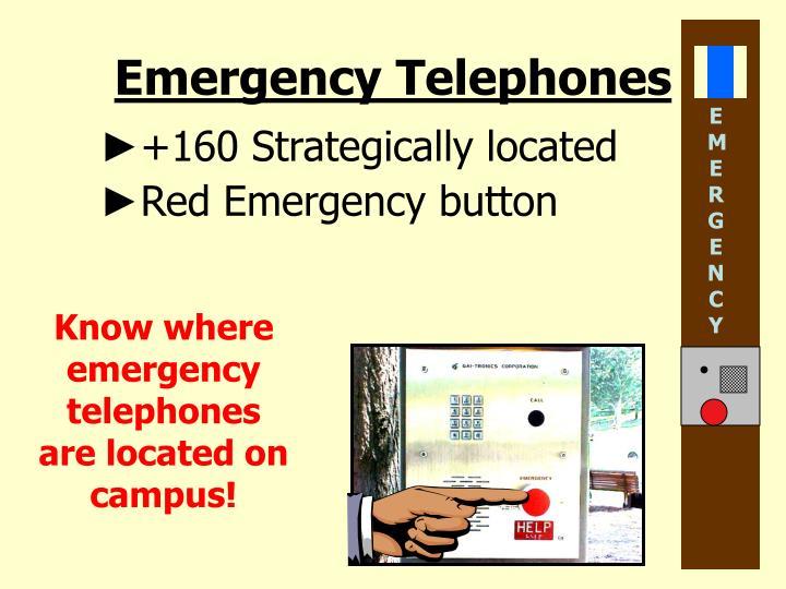 Emergency Telephones