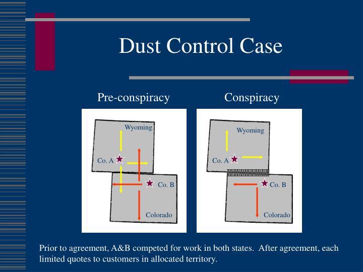 Dust Control Case