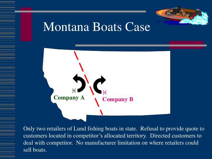 Montana Boats Case