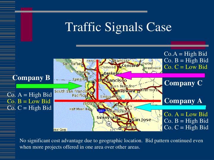 Traffic Signals Case