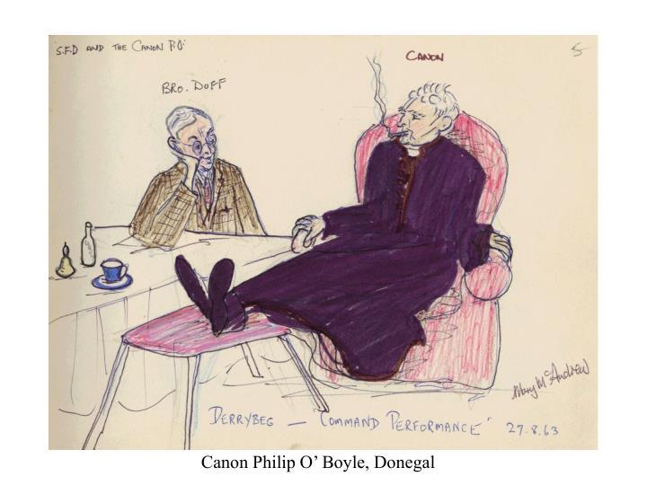 Canon Philip O' Boyle, Donegal