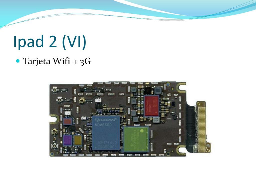 Ipad 2 (VI)