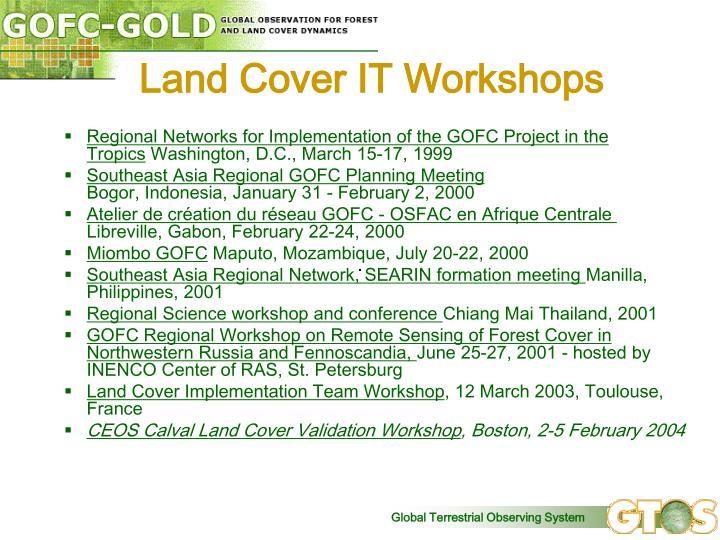 Land Cover IT Workshops