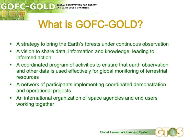 What is GOFC-GOLD?