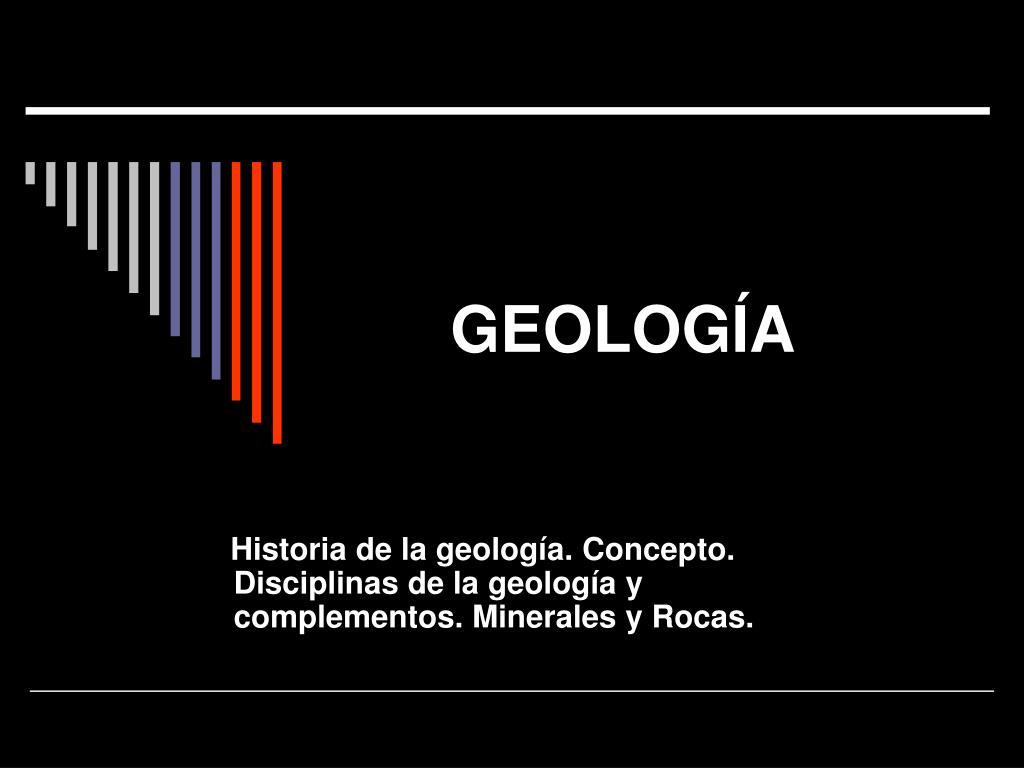 geolog a l.