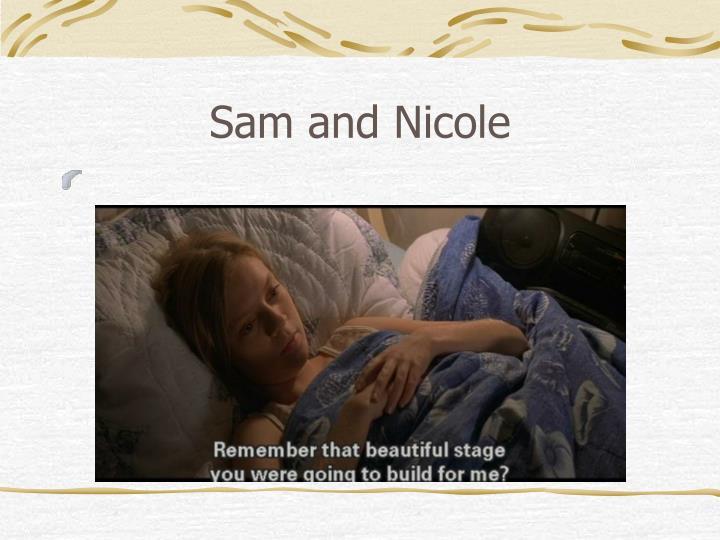 Sam and Nicole