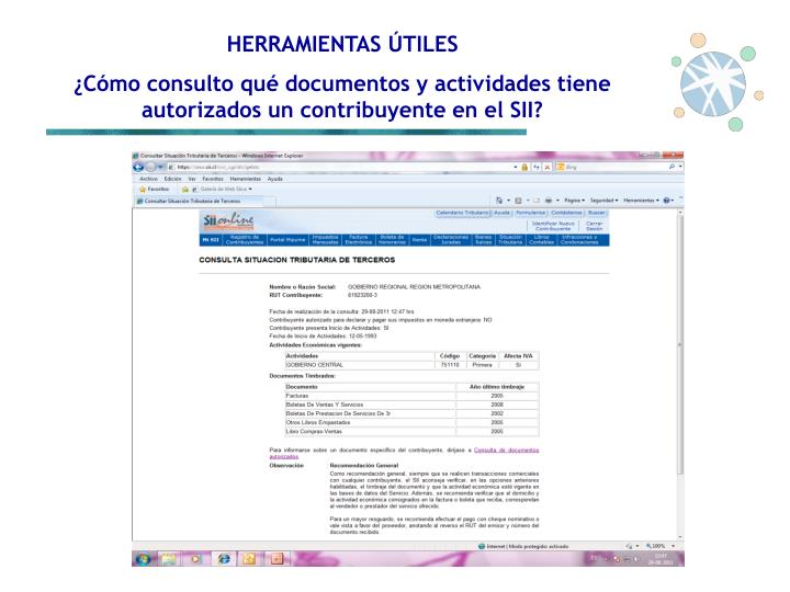 HERRAMIENTAS ÚTILES