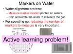 markers on wafer