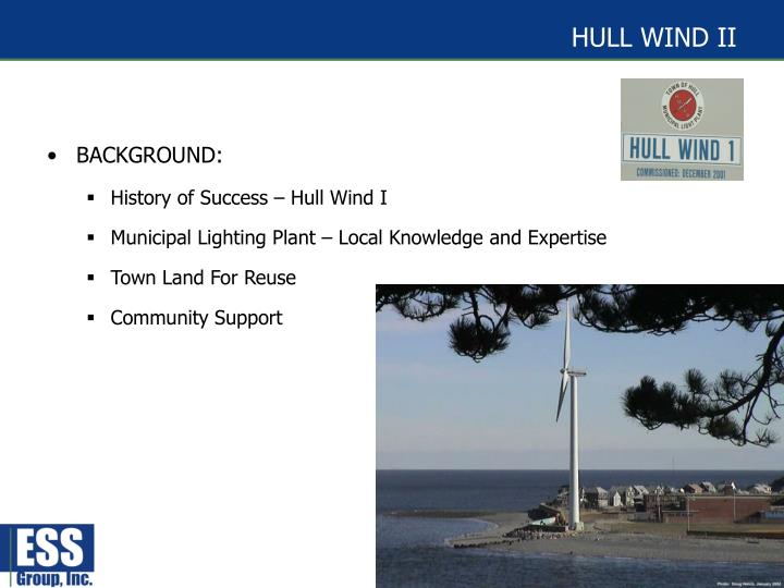 Hull wind ii
