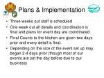 plans implementation1