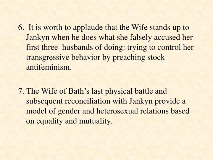 wife of bath husbands