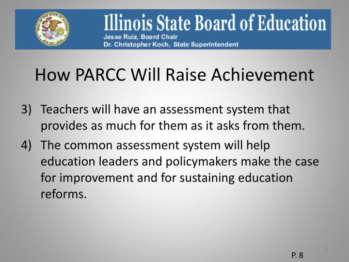 How PARCC Will Raise Achievement