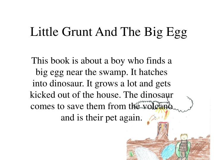 little grunt and the big egg n.