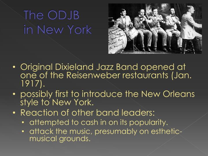 The odjb in new york