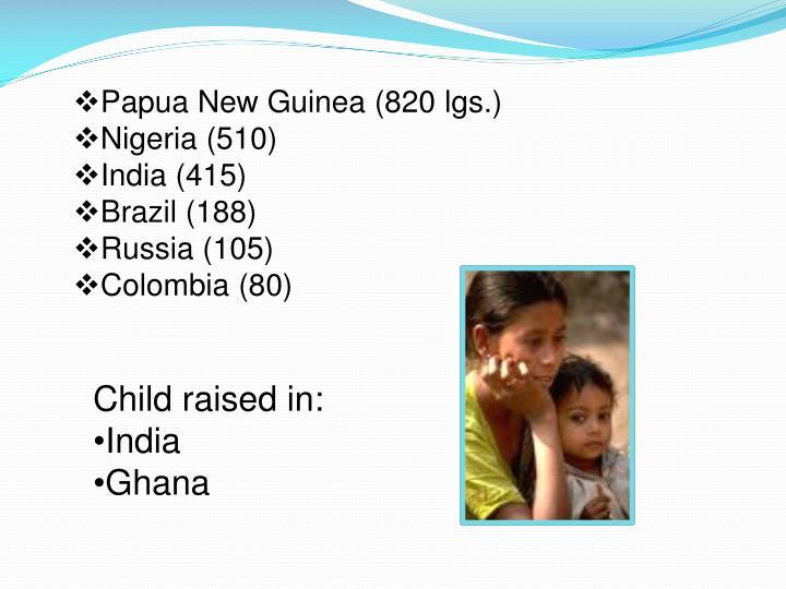 Papua New Guinea (820