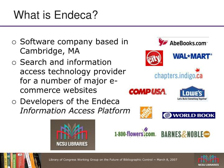 What is Endeca?