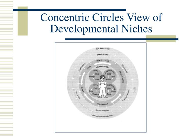 Concentric Circles View of Developmental Niches