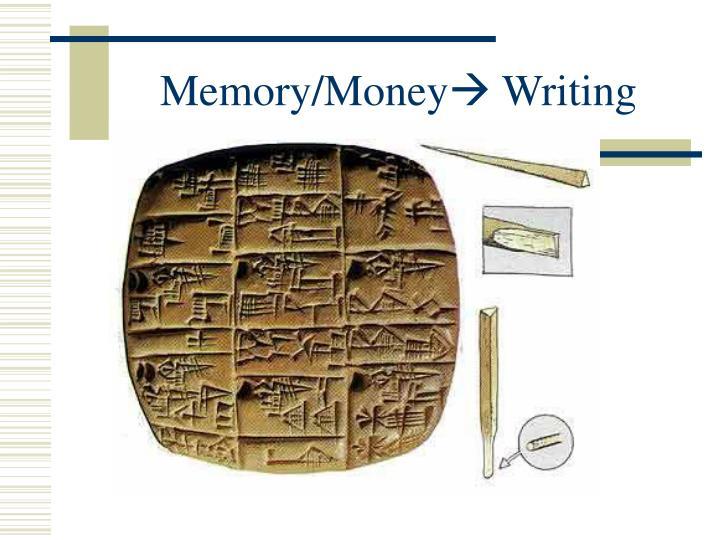 Memory/Money
