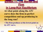 exhibit 11 the market and firm in long run equilibrium