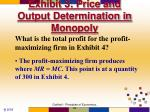 exhibit 3 price and output determination in monopoly
