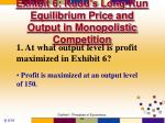 exhibit 6 rudd s long run equilibrium price and output in monopolistic competition
