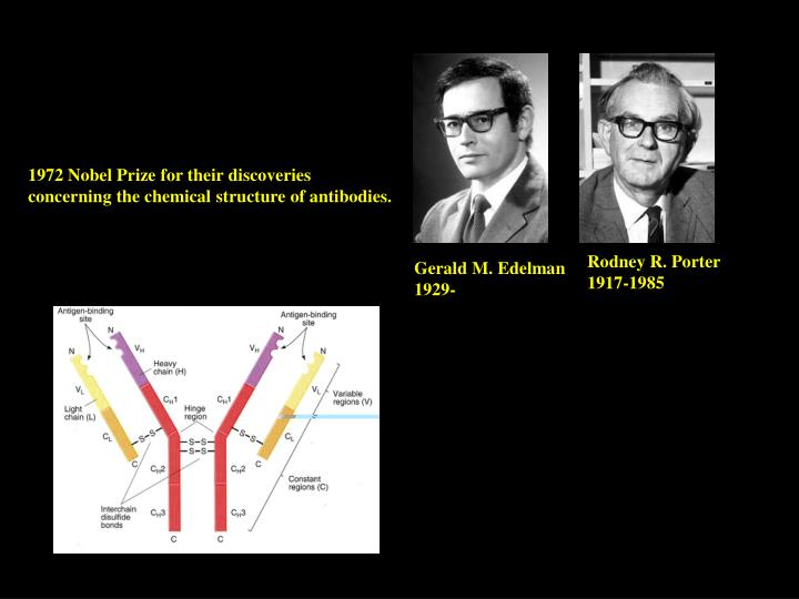 1972 Nobel Prize for their discoveries