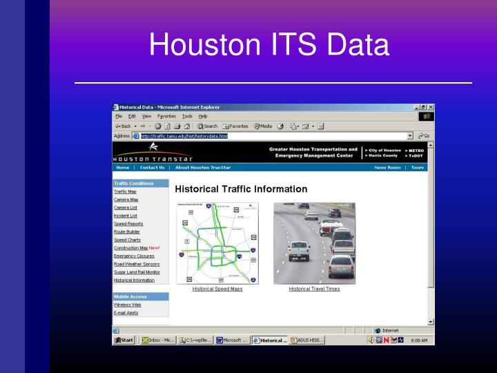 Houston ITS Data