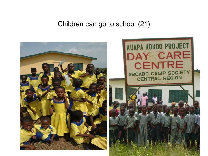 Children can go to school (21)