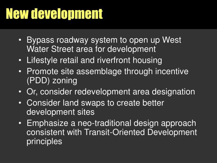 New development