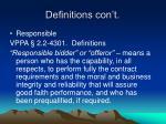 definitions con t