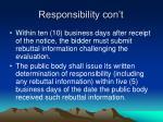 responsibility con t6