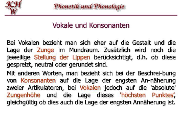 Vokale und konsonanten1