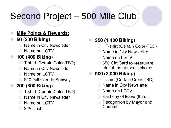 Mile Points & Rewards: