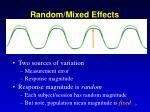 random mixed effects1