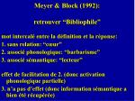 meyer block 1992 retrouver bibliophile