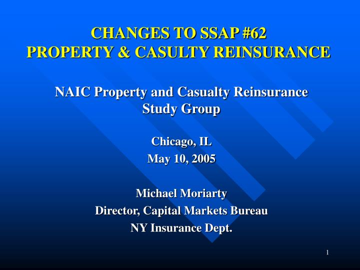 Changes to ssap 62 property casulty reinsurance