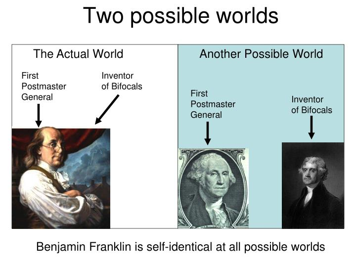 Two possible worlds