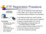 ittf registration procedure
