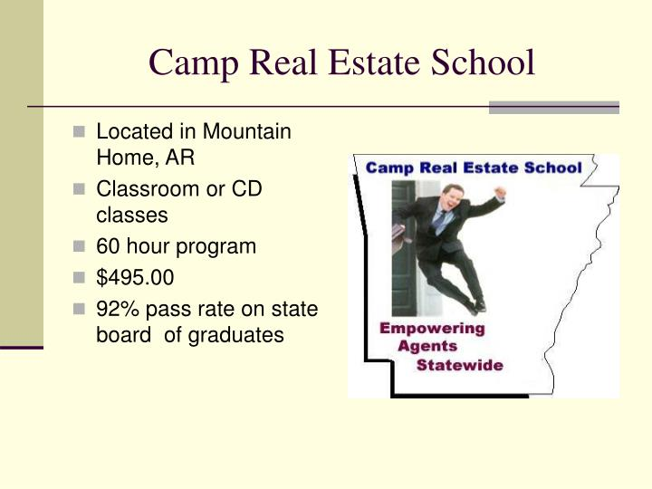 Camp Real Estate School