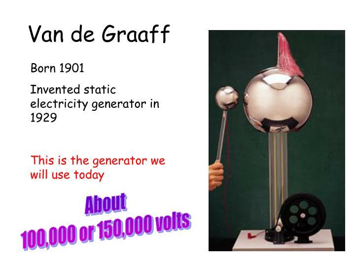 Van de Graaff
